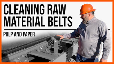 Cleaning Raw Material Belts (Pulp and Paper) copy