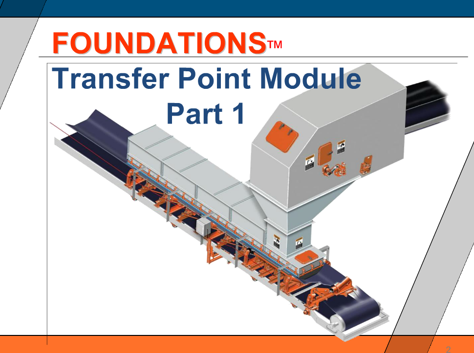 Transfer Point - Part 1
